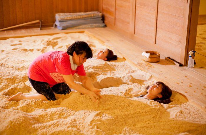 西上州_安中市【安中市】砂塩風呂でデトックス体験