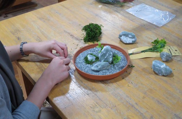 西上州_藤岡市【藤岡市】三波石を使ったミニチュア庭園造り体験