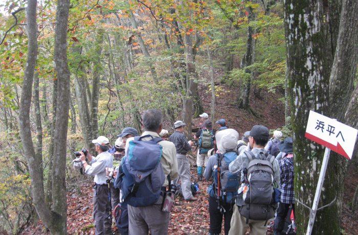 上野村「ガイドと歩く登山体験」